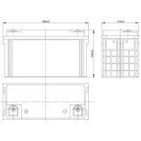 AQQU 12HFL650 (12V/150Ah)