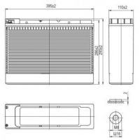 AQQU 12XFT105 (12V/105Ah)