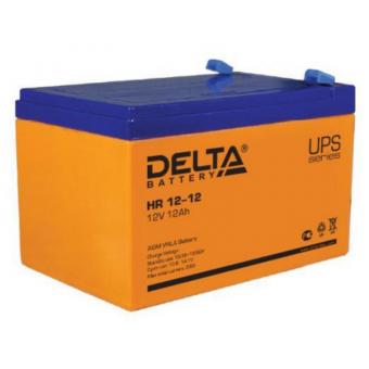 АКБ Delta HR 12-12 (12V / 12Ah)