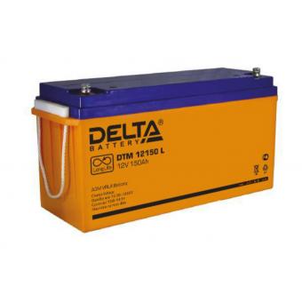 АКБ Delta DTM 12150 L (12V / 150Ah)
