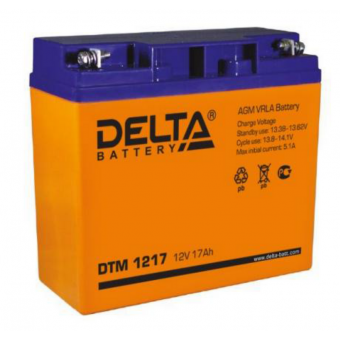 АКБ Delta DTM 1217 (12V / 17Ah)
