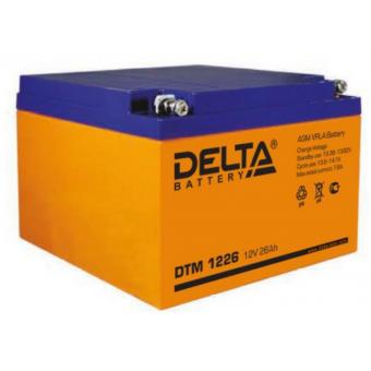 АКБ Delta DTM 1226 (12V / 26Ah)