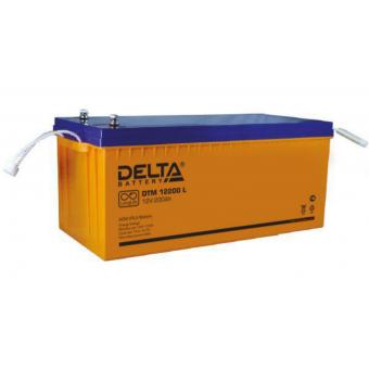 АКБ Delta DTM 12200 L (12V / 200Ah)