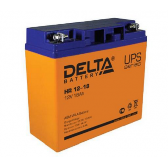 АКБ Delta HR 12-18 (12V / 18Ah)