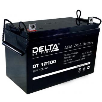 АКБ Delta DT 12100 (12V / 100Ah)