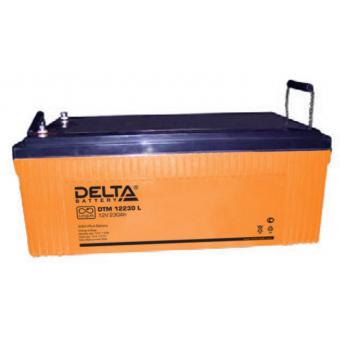 АКБ Delta DTM 12230 L (12V / 230Ah)