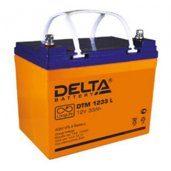 АКБ Delta DTM 1233 L (12V / 33Ah)