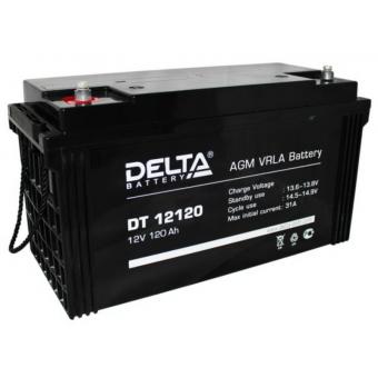 АКБ Delta DT 12120 (12V / 120Ah)
