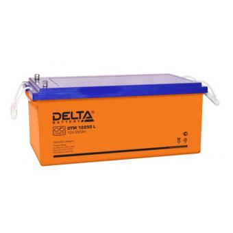 АКБ Delta DTM 12250 L (12V / 250Ah)