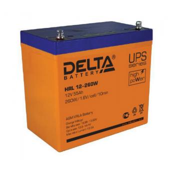 АКБ Delta HRL 12-260W (12V / 55Ah)