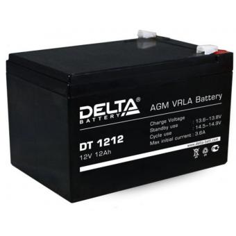 АКБ Delta DT 1212 (12V / 12Ah)