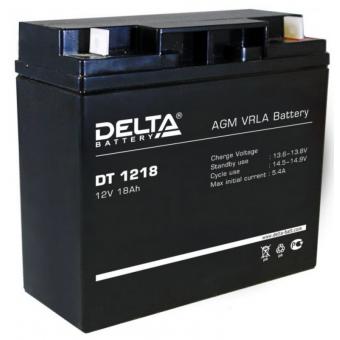 АКБ Delta DT 1218 (12V / 18Ah)
