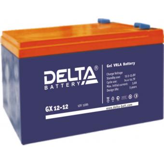 АКБ Delta GX 12-12 (12V / 12Ah)