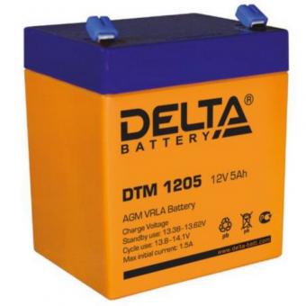 АКБ Delta DTM 1205 (12V / 5Ah)