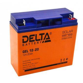 АКБ Delta GEL 12-20 (12V / 20Ah)