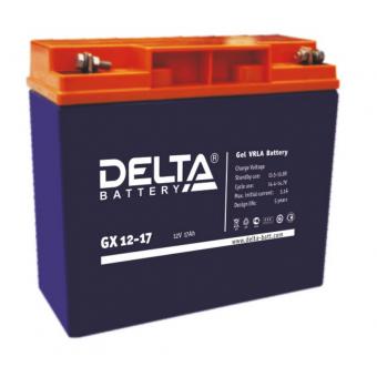 АКБ Delta GX 12-17 (12V / 17Ah)