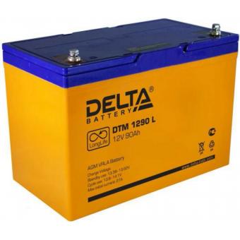 АКБ Delta DTM 1290 L (12V / 90Ah)
