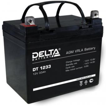 АКБ Delta DT 1233 (12V / 33Ah)