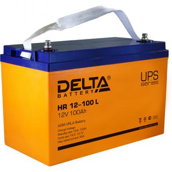 АКБ Delta HR 12-100 L (12V / 100Ah)