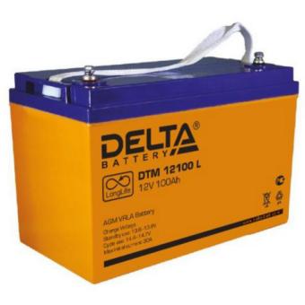 АКБ Delta DTM 12100 L (12V / 100Ah)