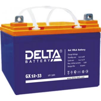 АКБ Delta GX 12-33 (12V / 33Ah)