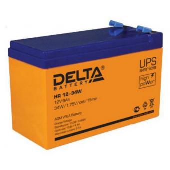 АКБ Delta HR 12-34W (12V / 9Ah)