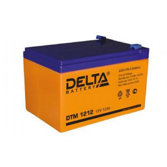 АКБ Delta DTM 1212 (12V / 12Ah)