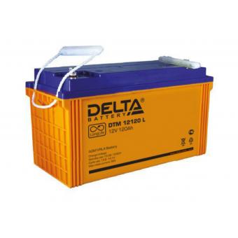 АКБ Delta DTM 12120 L (12V / 120Ah)