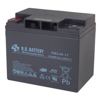 АКБ BB Battery HRL 40-12 (12V / 40Ah)