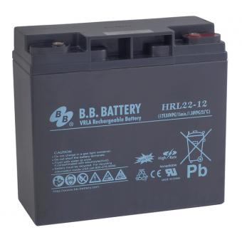 АКБ BB Battery HRL 22-12 (12V / 22Ah)