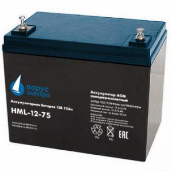 АКБ Парус электро HML-12-75 (12В / 75Ач)