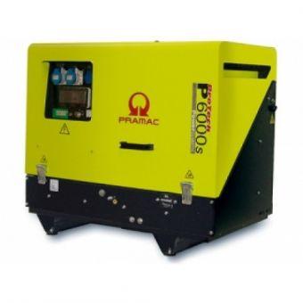 Pramac P6000s портативная дизельная электростанция