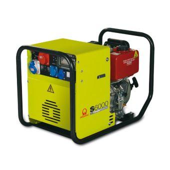 Pramac S6000 трехфазная дизельная электростанция