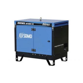 DIESEL 6500 TE SILENCE Трехфазный дизельный генератор SDMO