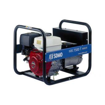 SDMO HX 7500 T C трехфазная бензиновая электростанция