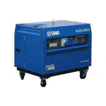 SDMO ALIZE 6000E AUTO однофазная бензиновая электростанция