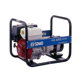 SDMO HX 6000 C однофазная бензиновая электростанция