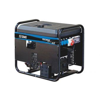 SDMO TECHNIC 7500 TE AVR C трехфазная бензиновая электростанция