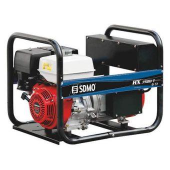 SDMO HX 7500 T AVR IP54 трехфазная бензиновая электростанция