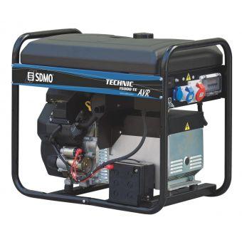 SDMO TECHNIC 15000TE AVR C трехфазная бензиновая электростанция