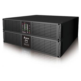 ИБП Delta R-Series 3 kVA двойного преобразования (онлайн) для 19 дюймовой стойки с подключением внешних аккумуляторов