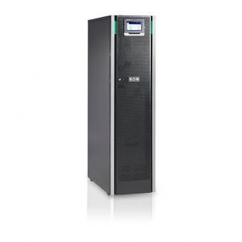 ИБП Eaton 93PS-15(20)-20-2x9Ah-MBS-6 онлайн двойного преобразования мощностью 15 кВт для напольной установки с трехфазным входом и выходом, две группы АКБ (установлен переключатель байпас)