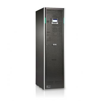 ИБП Eaton 93PS-10(40)-20-3x9Ah-MBS-6 онлайн двойного преобразования мощностью 10 кВт для напольной установки с трехфазным входом и выходом, три группы АКБ (установлен переключатель байпас)