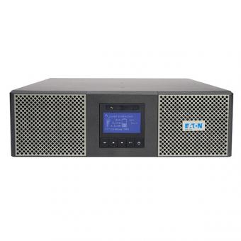 ИБП Eaton 9PX 6000i RT3U Netpack онлайн двойного преобразования в корпусе напольно-стоечного исполнения с встроенными аккумуляторами, картой SNMP и возможностью параллельной работы