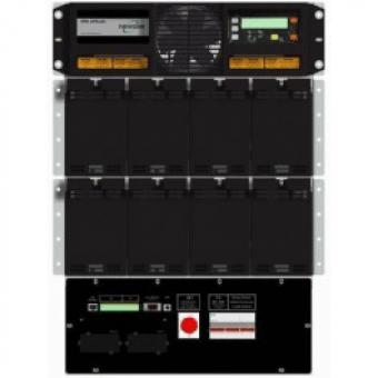 Модульный ИБП Newave DPA UPScale RI12 онлайн двойного преобразования с трехфазным входом и выходом для установки в 19 дюймовую стойку