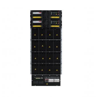 Модульный ИБП Newave DPA UPScale RI24 онлайн двойного преобразования с трехфазным входом и выходом для установки в 19 дюймовую стойку