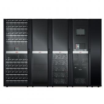 ИБП APC Symmetra PX 125 кВт, с возможностью масштабирования до 500 кВт, с установленным справа сервисным байпасом и распределительным оборудованием
