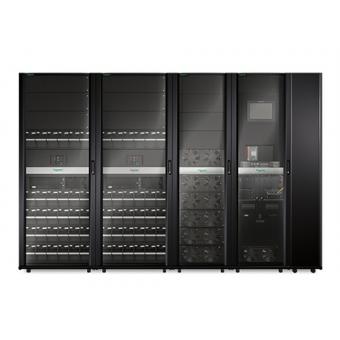 ИБП APC Symmetra PX 150 кВт, с возможностью масштабирования до 250 кВт, с установленным справа сервисным байпасом и распределительным оборудованием
