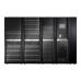 ИБП APC Symmetra PX 200 кВт, с возможностью масштабирования до 250 кВт, с установленным справа сервисным байпасом и распределительным оборудованием