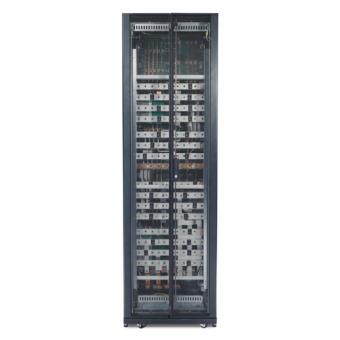 ИБП APC Symmetra PX 96 кВт, с наращиванием до 160 кВт, 400 В, без сервисного байпаса, системы распределения питания и аккумуляторов